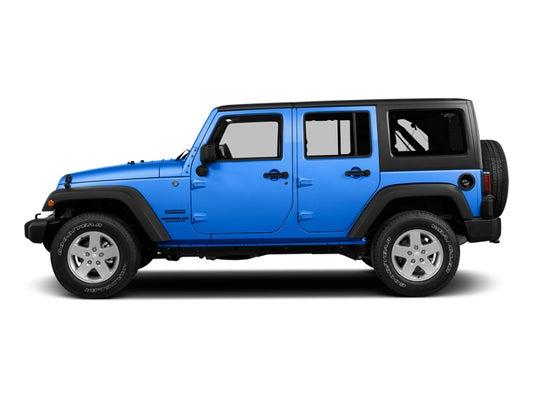 2015 Jeep Wrangler Unlimited Willys Wheeler in Rock Springs